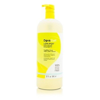 DevaCurl Low-Poo Delight (Weightless Waves Mild Lather Cleanser - For Wavy Hair)  946ml/32oz