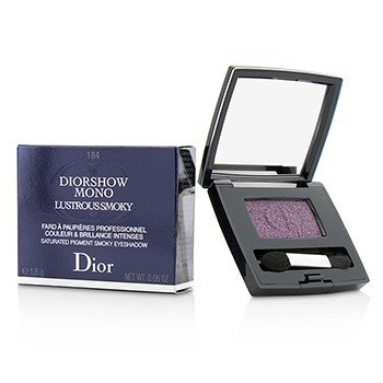 Christian Dior Diorshow Mono Lustrous Smoky Saturated Pigment Smoky Eyeshadow - # 184 Temptation  1.8g/0.06oz