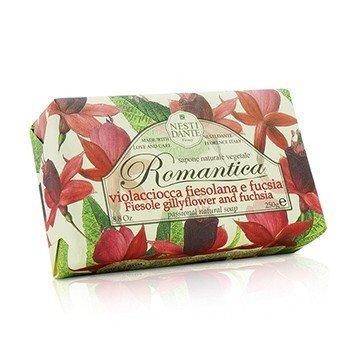 Nesti Dante Romantica Passional Natural Soap - Fiesole Gillyflower & Fuchsia  250g/8.8oz