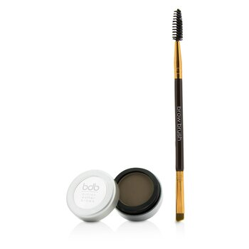 Billion Dollar Brows 60 Seconds To Beautiful Brows Kit (1x Brow Powder, 1x Dual Ended Brow Brush) - Taupe  2pcs
