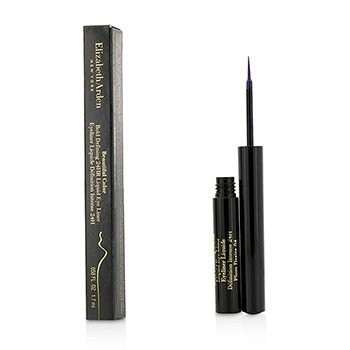 Elizabeth Arden Beautiful Color Bold Defining 24HR Liquid Eye Liner - 04 Plum Desire  1.7ml/0.058oz