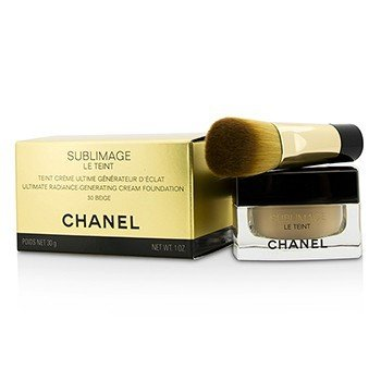 Chanel Sublimage Le Teint Ultimate Radiance Generating Cream Foundation - # 30 Beige  30g/1oz