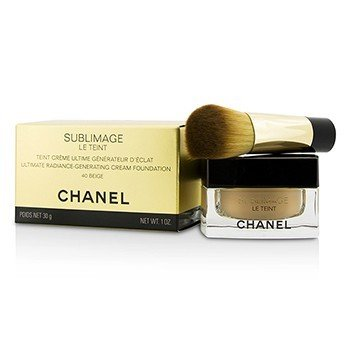 Chanel Sublimage Le Teint Ultimate Radiance Generating Cream Foundation - # 40 Beige  30g/1oz