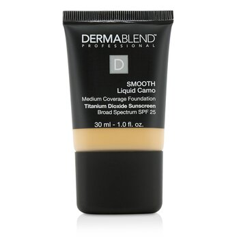 Dermablend Smooth Liquid Camo Foundation SPF 25 (Medium Coverage) - Chai (35W)  30ml/1oz
