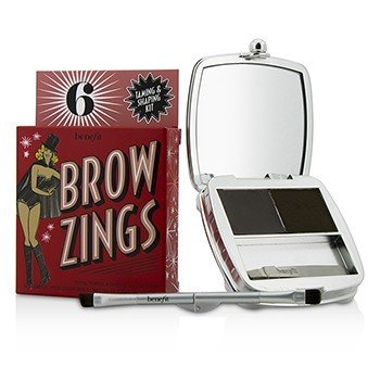 Benefit Brow Zings (Total Taming & Shaping Kit For Brows) - #6 (Deep)  4.35g/0.15oz