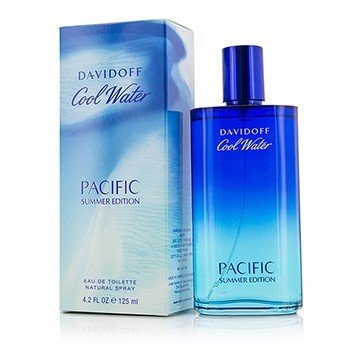 Davidoff Cool Water Pacific Summer Edition Eau De Toilette Spray  125ml/4.2oz