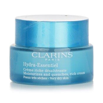 Clarins Hydra-Essentiel Moisturizes & Quenches Rich Cream  50ml/1.8oz