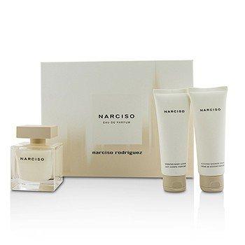 Narciso Rodriguez Narciso Coffret: Eau De Parfum Spray 90ml/3oz + Body Lotion 75ml/2.5oz + Shower Cream 75ml/2.5oz  3pcs