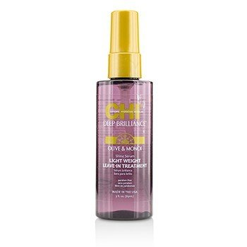 CHI Deep Brilliance Olive & Monoi Shine Serum Light Weight Leave-In Treatment  89ml/3oz