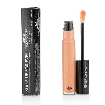 Make Up For Ever Artist Plexi Gloss Lip Lacquer - # 201 (Light Rose)  7ml/0.23oz