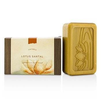 Thymes Lotus Santal Luxurious Bath Soap  170g/6oz