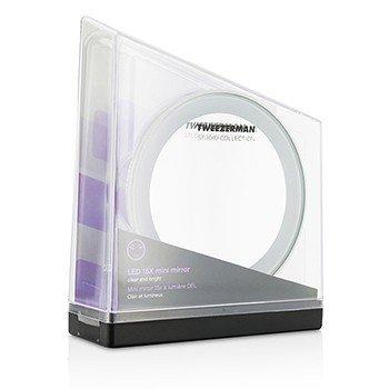 Tweezerman LED 15X Mini Mirror (Studio Collection)  -