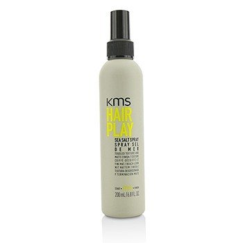 KMS California Hair Play Sea Salt Spray (Tousled Texture and Matte Finish)  200ml/6.8oz