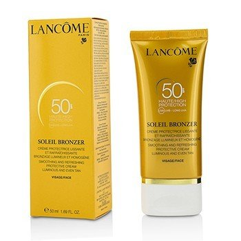Lancome Soleil Bronzer Smoothing & Refreshing Protective Cream SPF50  50ml/1.69oz