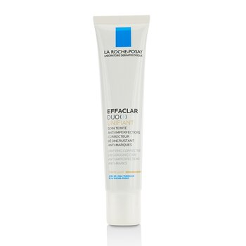 La Roche Posay Effaclar Duo (+) Unifiant Unifying Corrective Unclogging Care Anti-Imperfections Anti-Marks - Light  40ml/1.35oz