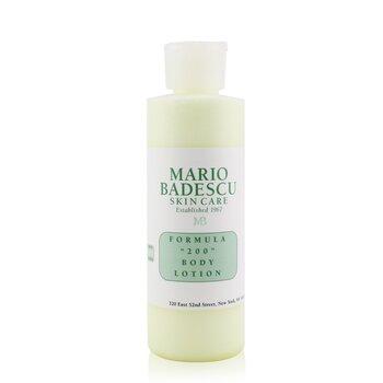 Mario Badescu Formula 200 Body Lotion - For All Skin Types  177ml/6oz