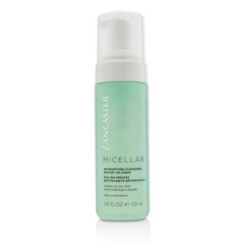 Lancaster Micellar Detoxifying Cleansing Water-To-Foam - Normal to Oily Skin, Including Sensitive Skin  150ml/5oz