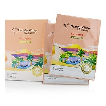 My Beauty Diary Mask - Sahara Scenedesmus (Oil Balancing)  8pcs
