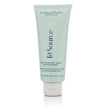 Crabtree & Evelyn La Source Exfoliating Body Scrub with Fine Pumice  175g/6.2oz