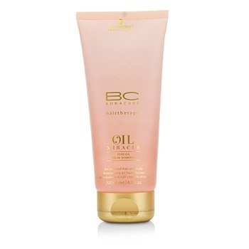 Schwarzkopf BC Oil Miracle Rose Oil Oil-In-Shampoo (For Stressed Hair and Scalp)  200ml/6.7oz
