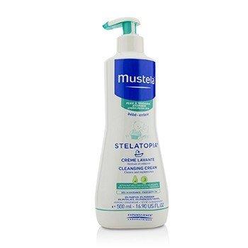 Mustela Stelatopia Cleansing Cream - For Atopic-Prone Skin  500ml/16.9oz