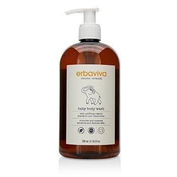 Erbaviva Baby Body Wash  500ml/16oz