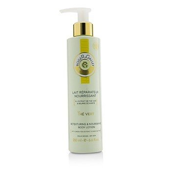 Roger & Gallet Green Tea (The Vert) Retexturing & Nourishing Body Lotion (with Pump)  200ml/6.6oz