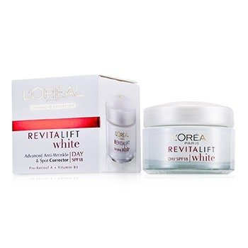 L'Oreal Dermo-Expertise RevitaLift White Day Cream SPF 18 (Exp. Date: 02/2018)  50ml/1.7oz