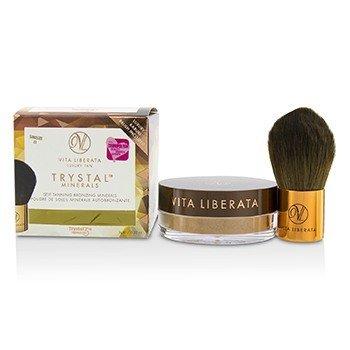 Vita Liberata Trystal Minerals Self Tanning Bronzing Minerals With Kabuki Brush - # 01 Sunkissed  9g/0.32oz