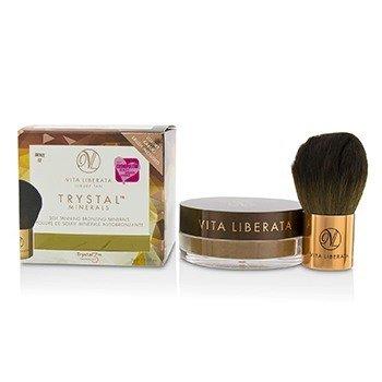Vita Liberata Trystal Minerals Self Tanning Bronzing Minerals With Kabuki Brush - # 02 Bronze  9g/0.32oz