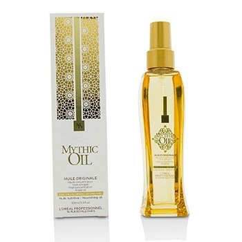L'Oreal Professionnel Mythic Oil Nourishing Oil with Argan Oil (All Hair Types)  100ml/3.4oz