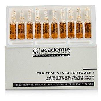 Academie Specific Treatments 1 Ampoules Propolis - Salon Product  10x3ml/0.1oz