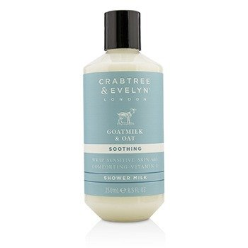 Crabtree & Evelyn Goatmilk & Oat Soothing Shower Milk  250ml/8.5oz