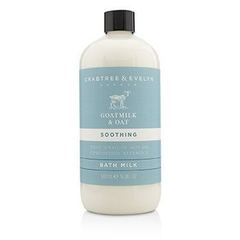 Crabtree & Evelyn Goatmilk & Oat Soothing Bath Milk  500ml/16.9oz