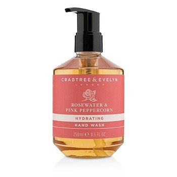 Crabtree & Evelyn Rosewater & Pink Peppercorn Hydrating Hand Wash  250ml/8.5oz