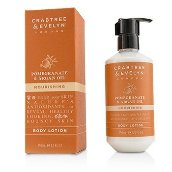 Crabtree & Evelyn Pomegranate & Argan Oil Nourishing Body Lotion  250ml/8.5oz
