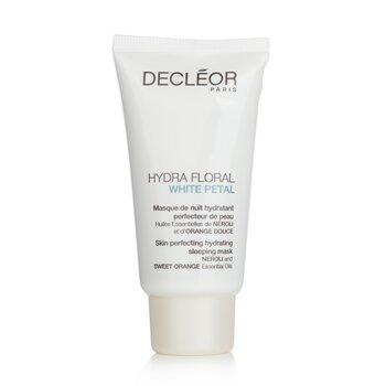 Decleor Hydra Floral White Petal Neroli & Sweet Orange Skin Perfecting Hydrating Sleeping Mask  50ml/1.7oz