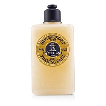 L'Occitane Shea Butter Rich Foaming Bath  500ml/16.9oz