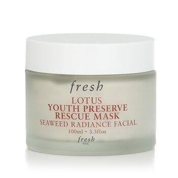 Fresh Lotus Youth Preserve Rescue Mask  100ml/3.3oz