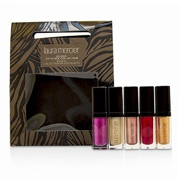 Laura Mercier Bisous Lip Glace Collection  5x2.8g/0.1oz