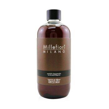 Millefiori Natural Fragrance Diffuser Refill - Sandalo Bergamotto  500ml/16.7oz