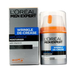 L'Oreal Men Expert Wrinkle De-Crease Anti-Expression Wrinkles Moisturising Cream  50ml/1.6oz