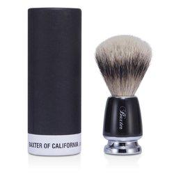 Baxter Of California Baxter Badger Hair Shave Brush - Silver Tip (Black)  1pc
