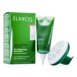 Galenic Activ' Slimming Massage kit: Glove + Slimming Shower Gel 200ml/6.7oz  2pcs