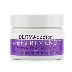 DERMAdoctor Wrinkle Revenge Rescue & Protect Facial Cream  50ml/1.7oz