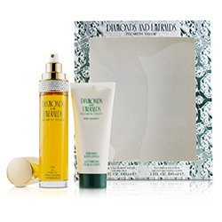 Elizabeth Taylor Diamonds & Emeralds Coffret: Eau De Toilette Spray 100ml/3.3oz + Perfumed Body Lotion 100ml/3.3oz  2pcs