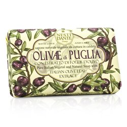 Nesti Dante Natural Soap With Italian Olive Leaf Extract  - Olivae Di Puglia  150g/3.5oz