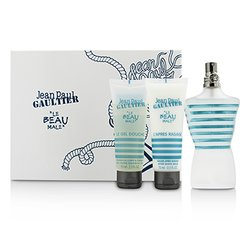 Jean Paul Gaultier Le Beau Male Coffret: Eau De Toilette Spray 125ml/4.2oz + All-Over Shower Gel 75ml/2.5oz + After Shave Balm 30ml/1oz (White Box)  3pcs