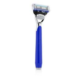 The Art Of Shaving Morris Park Collection Razor - Royal Blue  1pc