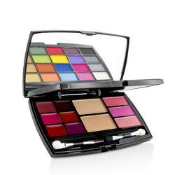 Cameleon MakeUp Kit Deluxe G2127 (20x Eyeshadow, 3x Blusher, 2x Pressed Powder, 6x Lipgloss, 2x Applicator)